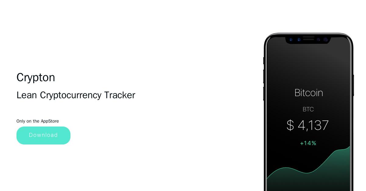 Crypton iOS Crypto Price Tracking App