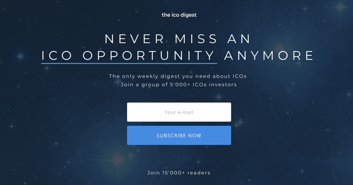The ICO Digest